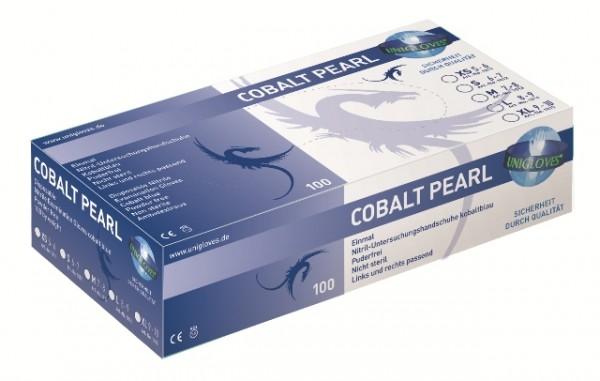 Unigloves Nitrilhandschuhe COBALT PEARL | XS-XL | 100 Stück/ Box