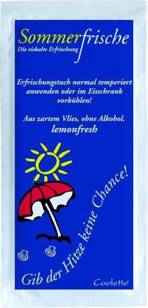 Erfrischungstuch Sommerfrische - lemonfresh aus Vlies