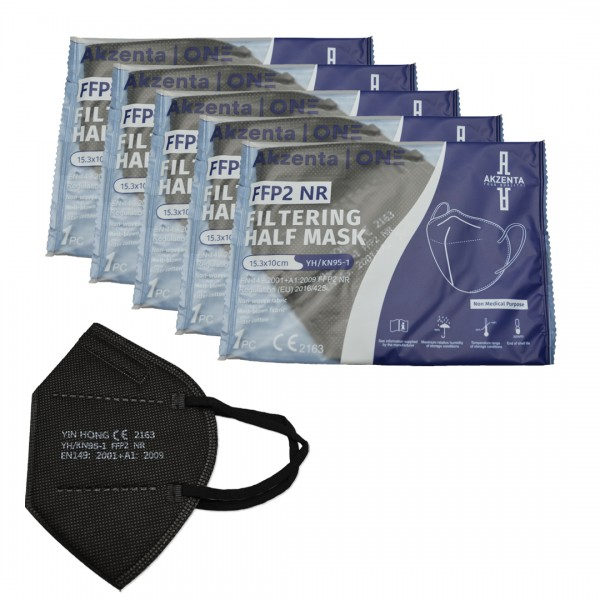 Feinstaubmasken FFP2 | Bunt | CE-zertifiziert | 20 Stück pro Box | ohne Ventil