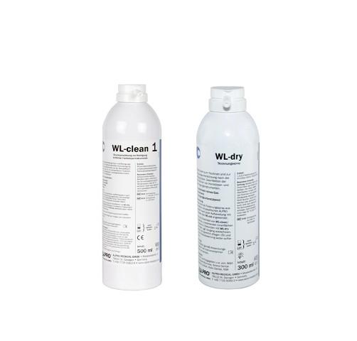 WL-clean Einführungsset mit 1 Flasche WL-clean 500ml + 1Flasche WL-dry 300ml