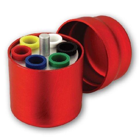 DC Endo Aufbewahrungsbox | rund | rot