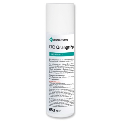DC Orange-Spray Spraydose mit 250 ml
