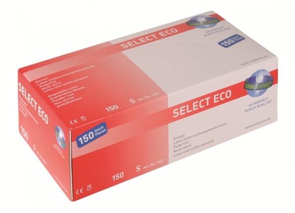 Unigloves Latexhandschuhe SELECT ECO | XS-L | 150 Stück/Box