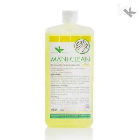 KK Mani-Clean Citro 1 Liter Euroblock-Flasche