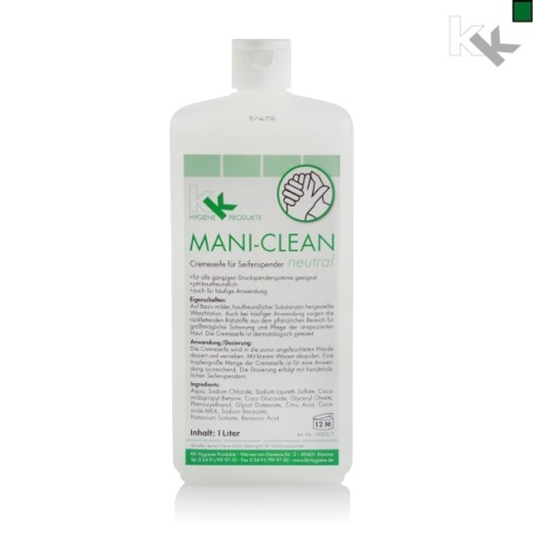 KK Mani-Clean Neutral 1 Liter Euroblock-Flasche
