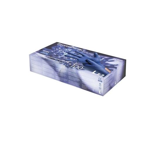 Nitrilhandschuhe EpidermProtect | Für empfindliche Haut | XS -XL | 100 Stück/Box