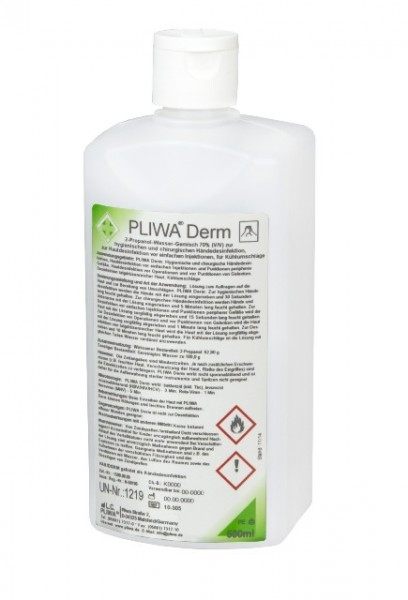 PLIWA® Derm Händedesinfektion 500ml