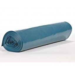 Müllsack 140 Liter mit Zugband Typ 60 Blau 25 Stück/Rolle