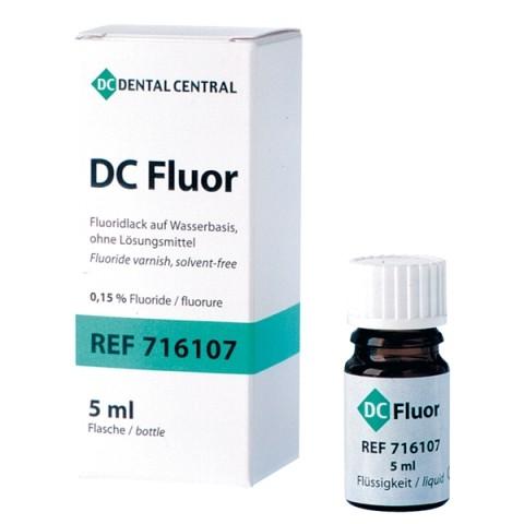 DC Fluor Flasche mit 5ml