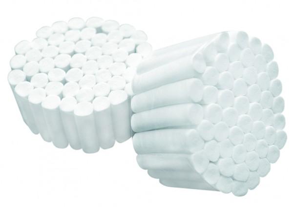 Dentalwatterollen 1.500 g Größe 1 bis 3