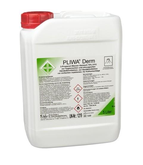 PLIWA® Derm Händedesinfektion 5 Liter