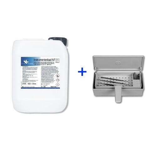 KK Instrumentenbad NF 10 Liter + Desinfektionswanne im Set