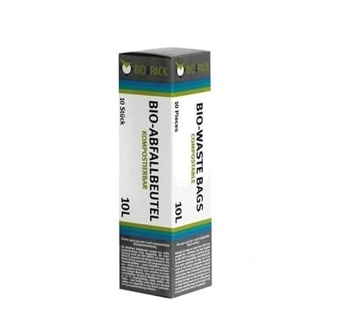 Bio Abfallbeutel 10 Liter 430 x 440 mm 15 µ 10 Stück/Faltschachtel