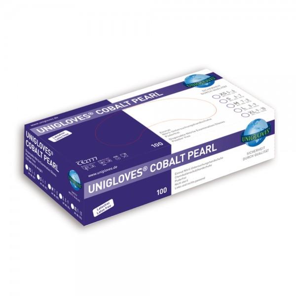 Unigloves Nitrilhandschuhe COBALT PEARL   XS-XL   100 Stück/ Box