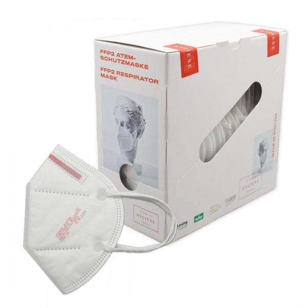 Feinstaubmasken FFP2 | Weiß | CE-zertifiziert | 20 Stück/ Box | ohne Ventil
