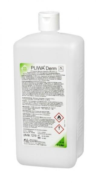 PLIWA® Derm Händedesinfektion 1 Liter