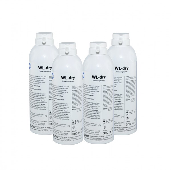 WL-dry Trocknungspray 4 x 300 ml